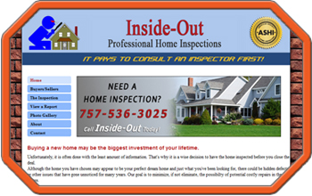 Home Inspection Website